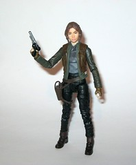 jyn erso - sergeant jyn erso - jedha star wars the black series 6 inch action figures 2016 red packaging the force awakens #22 rogue one p (tjparkside) Tags: sergeant jyn erso jedha rebel star wars sw tbs black series 6 six inch action figure figures hasbro 2016 rogue 1 one story alliance number 22 twenty two red package disney scarf cloak hood blaster holster jacket pistol weapon r1 packaging force awakens