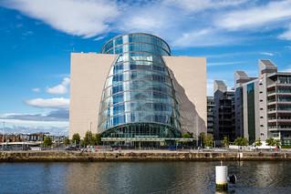 Ireland - Dublin - Docklands - The Convention Centre