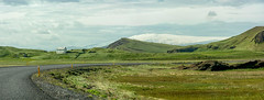 D71_7301-Pano.jpg (David Hamments) Tags: theroadtovik panorama iceland landscape mountain scene