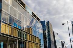 Ireland - Dublin - Docklands (Marcial Bernabeu) Tags: marcial bernabeu bernabéu ireland irlanda dublin dublín docklands modern design architecture glass sky moderno moderna diseño arquitectura cristal building edificio