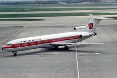 TS-JHV Boeing 727-2H3 Tunis Air (pslg05896) Tags: tsjhv boeing727 tunisair lhr egll london heathow