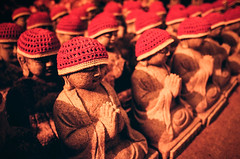 baby Buddha's (koribrus) Tags: ai 400iso film photography 400asa redscale lens buddhist ais asa iso kori gold koribrus korea prime meditation daewonsa hat manual focus buddhism buddha statue boseong brus 400 believeinfilm filmisnotdead temple kodak filmphotography manualfocus