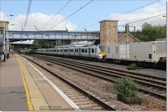 Brand new 700120 is dragged south through Huntingdon, July 12th 2017 a (Bristol RE) Tags: 6x70 45201 700120 700 class700 huntingdon