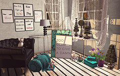 Style1444 (Kayshla Aristocrat) Tags: fancydecor dictatorshop ds furniture decor homeandgarden madpea plants flowers kalopsia lushposes decorations birdy chihuahua thehomeshow blogger photography kayshlaaristocrat