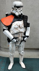 2016-Fan Dressed Up as a Star Wars Sand Trooper at SDCC-01 (David Cummings62) Tags: sandiego ca calif california comiccon con fans dressup cosplay david dave cummings starwars sandtrooper stormtrooper darkhorse marvel comics movie movies
