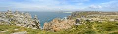 Pen Hir-83-Pano (stevefge) Tags: bretagne brittany france penhir cliffs sea ocean atlantic reflectyourworld rocks panorama nature natuur