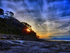 Nearest star I (elphweb) Tags: hdr highdynamicrange seaside ocean water sky skies nsw australia