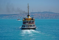 Eminonu, Istanbul (yonca60) Tags: istanbul turkey sea ship gemi vapur turkuaz bluesea marmaradenizi landscape manzara visitistanbul