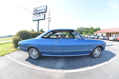 Classic Cars Corvair Club Hoyt's Restaurant Lexington, NC Motorcycle Harley Davidson 1994 Heritage Softail 20170710_4237 (Shane's Flying Disc Show) Tags: classiccars corvairclub davidson nc lexinton unsafeatanyspeed daredevils