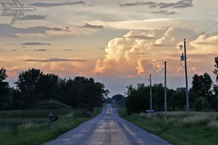Wanderlust (Winglet Photography) Tags: wingletphotography georgewidener stockphoto earth sun wisconsin canon 7d georgerwidener inspiration colors sky storm clouds rain stormscape cloudporn chasing spotting observing weather thunderstorm dusk evening sunset rural mammatus landscape omro oshkosh road