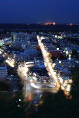nakhon sawan night (ratchapongdamsanit) Tags: car 50mm city light d3400 nikon thailand view landscape 50 goodnight f11 nikond3400