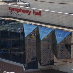 (metrogogo) Tags: symphonyhall birmingham centenarysquare reflections reflected concerthall venue musicvenue worldfamous