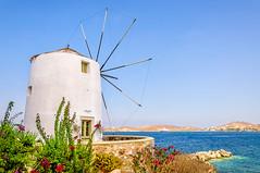 Parikia, Paros (Kevin R Thornton) Tags: d90 nikon travel parikia architecture windmill greece landscape mediterranean paros egeo gr