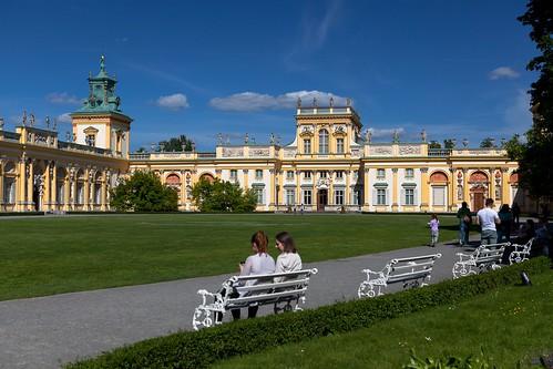 Pałac w Wilanowie  - park i ogród / Wilanow Palace - park and gardens
