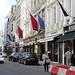 High-end jewellers on New Bond Street