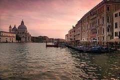 Evening in Venice (jaros 2(Ron)) Tags: venice italy veniceitaly grad nikon water eveninglight raw gondola ndgrad sunset grandcanal