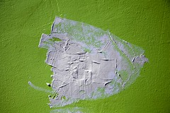 Eternel retour (Gerard Hermand) Tags: 1705198345 gerardhermand france paris canon eos5dmarkii formatpaysage peinture paint vert green enduit coating blanc white mur wall abstrait abstract abstraction