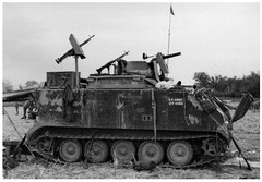 "M113 apc 2/47th Infantry ""Panthers"" , 9th Infantry Division ""Old Reliables"" (Jerzy Krzemiński) Tags: m113 apc infantry vietnam m134 minigun"