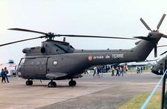 1214 / ADL Aerospatiale SA330 B Puma cn 1214 French Army  RAF Fairford 14Jul85 (kerrydavidtaylor) Tags: egva ffd armeedeterre