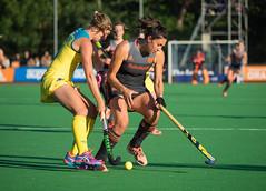 16160301 (roel.ubels) Tags: 'tspandersbosch hockey fieldhockey nederland oranje holland australia australië sport topsport hilversum 2017