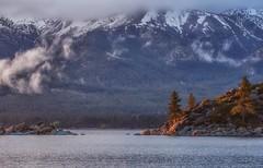(Marc Crumpler (Ilikethenight)) Tags: landscape usa nevada laketahoe sandharbor marccrumpler water lake mountains sierranevadamountains snow clouds rocks boulders canon canon6d 6d 24105mmf4l