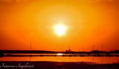 Sunset (Francesco Impellizzeri) Tags: sunset trapani sicilia water reflections