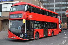 RATP London Soverign VHR45204 LJ66EZO (Will Swain) Tags: harrow bus station 29th april 2017 harrowonthehill hill greater london capital city south east buses transport travel uk britain vehicle vehicles county country england english ratp soverign vhr45204 lj66ezo