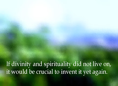 If divinity and spirituality (McZarina) Tags: religions religious dogma words text quotation sky god
