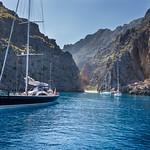 Sailboats at Torrent de Pareis thumbnail