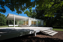 Farnsworth House (Chimay Bleue) Tags: midcentury modern modernism modernist design architecture mies van der rohe mvdr plano illinois farnsworth fox river