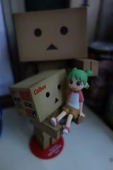 Danbo with Yotsuba (@arith) Tags: よつばと! ダンボー フィギュア