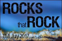 Rocks That Rock TMI July 2017 Award Stamp (lensletter) Tags: geode geodes macro tmi rock rocks