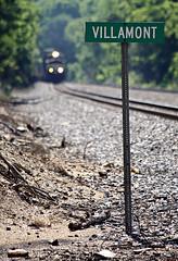 Villamont (goremirebob) Tags: trains norfolkwestern railroads virginia norfolksouthern ns intermodal doublestacks
