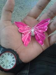 Butterfly - Javier Vivanco (javier vivanco origami) Tags: butterfly mariposa origami javier vivanco ica peru
