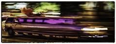 Budapest Hen night - liquid in motion! (Andy J Newman) Tags: blur motion budapest night lowlight car motor auto hen hennight art artistic arty colour color nikon d500