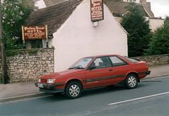 1988 Subaru 1.8 4wd Turbo Coupe, E192 LAD (2005) (Spottedlaurel) Tags: subaru 18 coupe e192lad