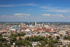 Birmingham, Alabama (russ david) Tags: birmingham alabama al october 2016 skyline architecture vulcan park museum