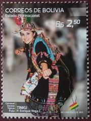 stamp (Sasha India) Tags: bolivia stamps philately sellos briefmarken dance