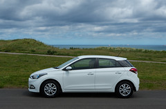 Hyundai i20, 1.2SE, 2017. (CWhatPhotos) Tags: cwhatphotos olympus omd em5 mk ii mkii panasonic 25mm prime lens digital camera photographs photograph pics pictures pic picture image images foto fotos photography artistic that have which with contain art light auto automobile car white hyundai i20 hyundaii20 12se 12 se vehicle 2017 new brand flickr
