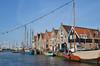 Monnickendam waterfront (-Kj.) Tags: monnickendam netherlands town boat bikeride afternoon