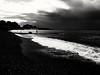 B&N (lucianoserra490) Tags: maredinverno spiaggia biancoenero genova