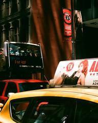 Nikon FE 2 (mollyporter) Tags: film analog nikon chicago portra 400 portra400 35mm analogue outdoor bus cab admiralclub redhead