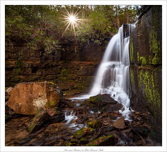 Sun and Shadows at Bad Branch Falls (John Cothron) Tags: 15mm 5dmarkii 5d2 5dii 5dmkii americansouth badbranch badbranchfalls cpl canoneos5dmkii carlzeiss chattahoocheeoconeenationalforest cothronphotography distagon1528ze dixie georgia johncothron lakeseed lakemont nacoocheelake oakeymountain rabuncounty southatlanticstates southernregion thesouth us usa unitedstatesofamerica zeissdistagont2815mmze circularpolarizingfilter clearsky clearweather creek environment falling flowing forest freshwater lake landscape longexposure morninglight moss mountain nature outdoor outside protected reservoir river rock rockformations scenic spring stream sunflare sunstar sunburst sunny water waterfall img13649160402 ©johncothron2016 sunandshadowsatbadbranchfalls