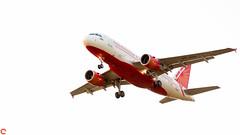 Airbus A319 - Air India (raveclix) Tags: raveclix india canon sigma canon5dmarkiii sigma150500mmf563apodgoshsm bangalore bengaluru karnataka kia aircraft aeroplane airbus a319