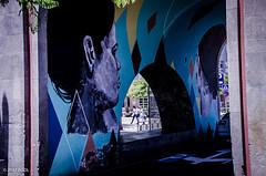 Through The Opening! (BGDL) Tags: lightroomcc nikond7000 bgdl afsnikkor18105mm13556g urban street streetart grafitti bridge santacruzdetenerife canaryislands 7daysofshooting week48 openings texturetuesday