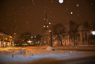 The snow falls softly down | Tromsø (Norway)