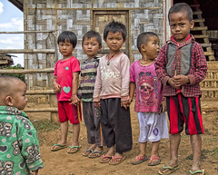 There's always one!!! (bag_lady) Tags: shanstate myanmar burma pao tribal ethnic indigenous kids village rural
