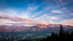 Tatra Mountain (cahharin) Tags: tatra tatry mountain mountains red sky sunset giewont landscape poland malopolska zakopane
