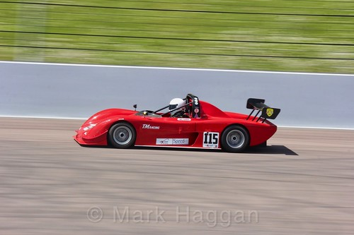 Neil Harris in the Excool BRSCC OSS Championship at Rockingham, June 2017