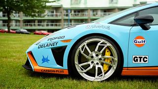 Gallardo in Gulf Racing livery